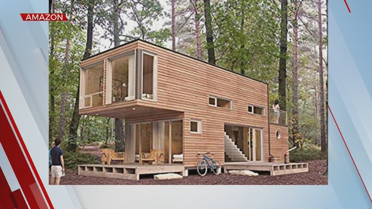 Something To Talk About: Amazon Tiny Houses