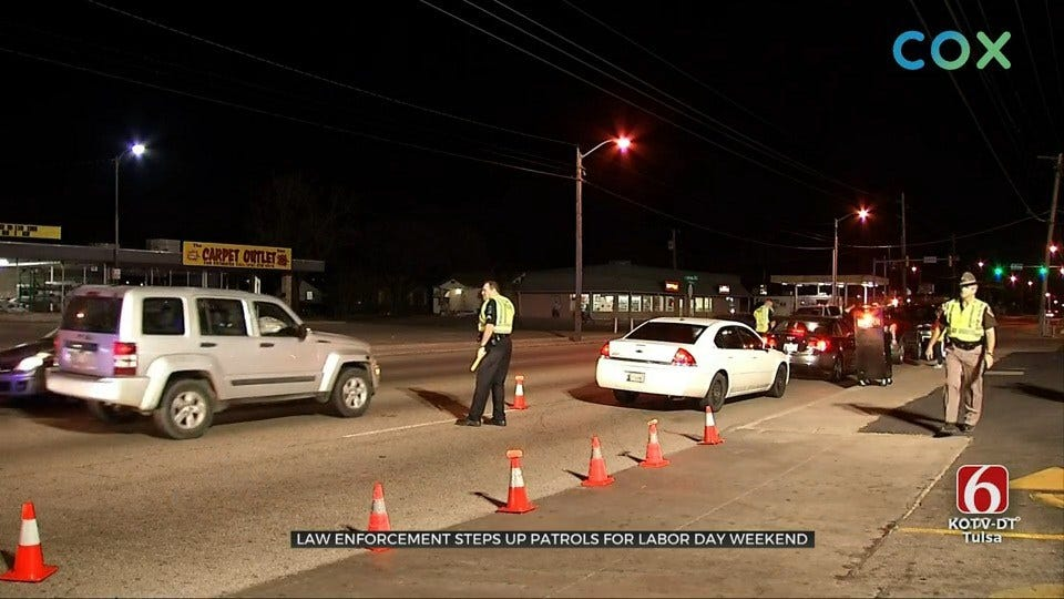 Law Enforcement Agencies Step Up Patrols For Labor Day Weekend