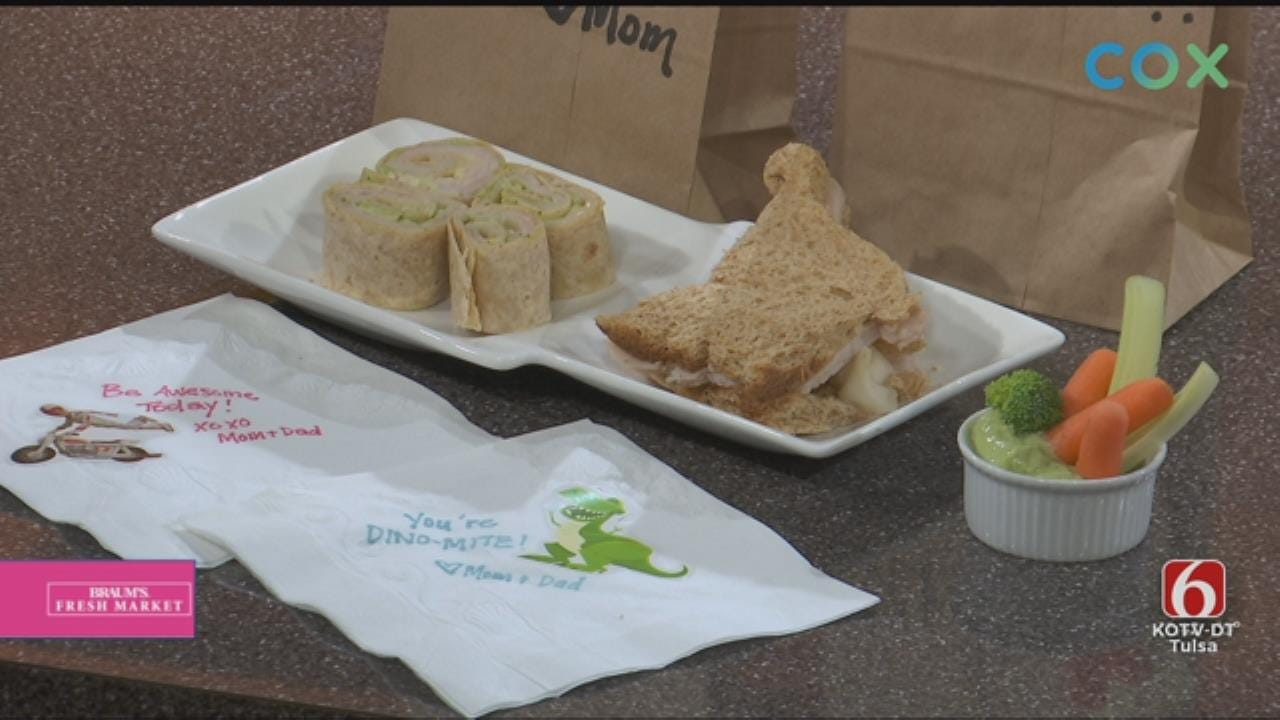 Brown-Bag Turkey Sandwich Makeovers With Avocado Crema Dressing