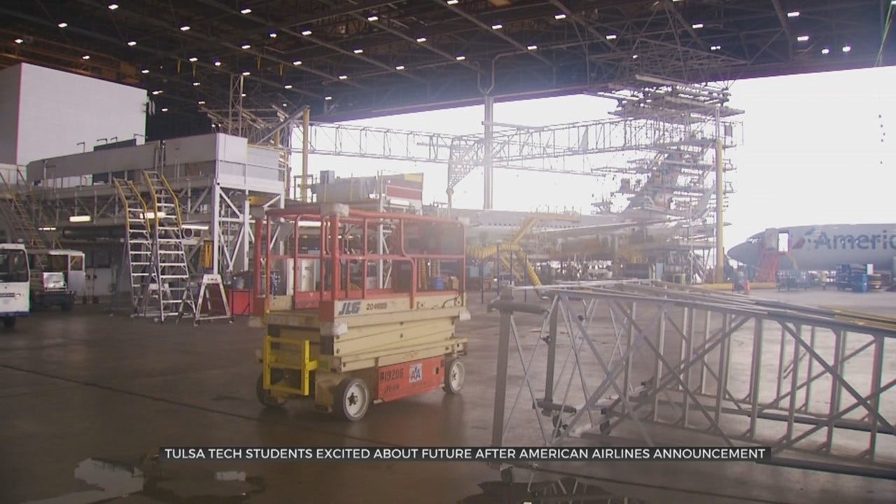 Tulsa Aviation Students Excited for Opportunities With American Airlines