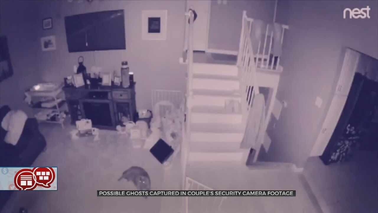 Something To Talk About: Is Security Cam Image A Ghost - Or Dust?