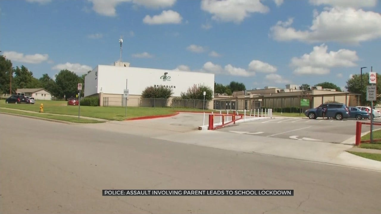 Tulsa Police Search For Man After School Goes Into Lockdown