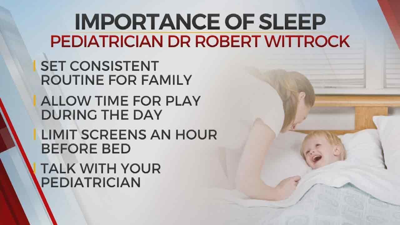 Get Your Zs: Tulsa Pediatrician Urges Parents To Help Kids Get Enough Sleep