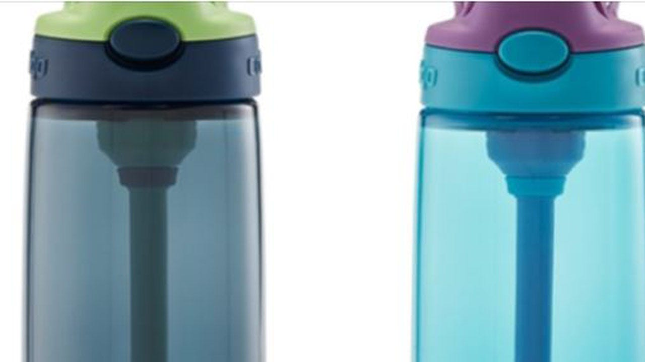5.7 Million Contigo Kids' Water Bottles Recalled Over Choking Hazard