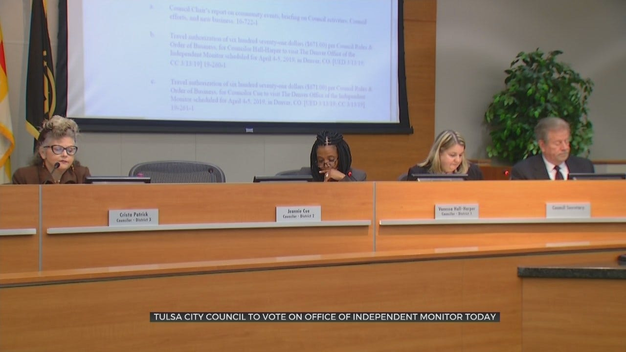 Tulsa City Council Scheduled To Vote On Creation Of Oversight Committee