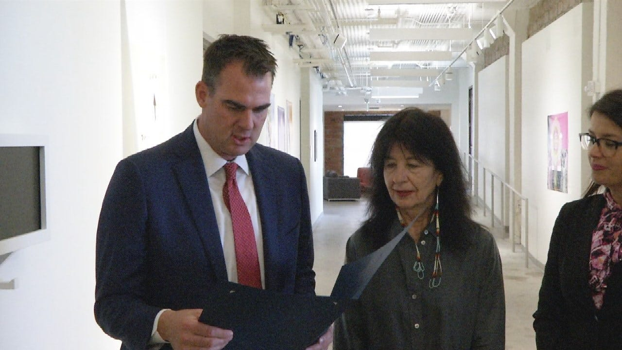Governor Stitt Proclaims Day In Honor Of Poet Joy Harjo