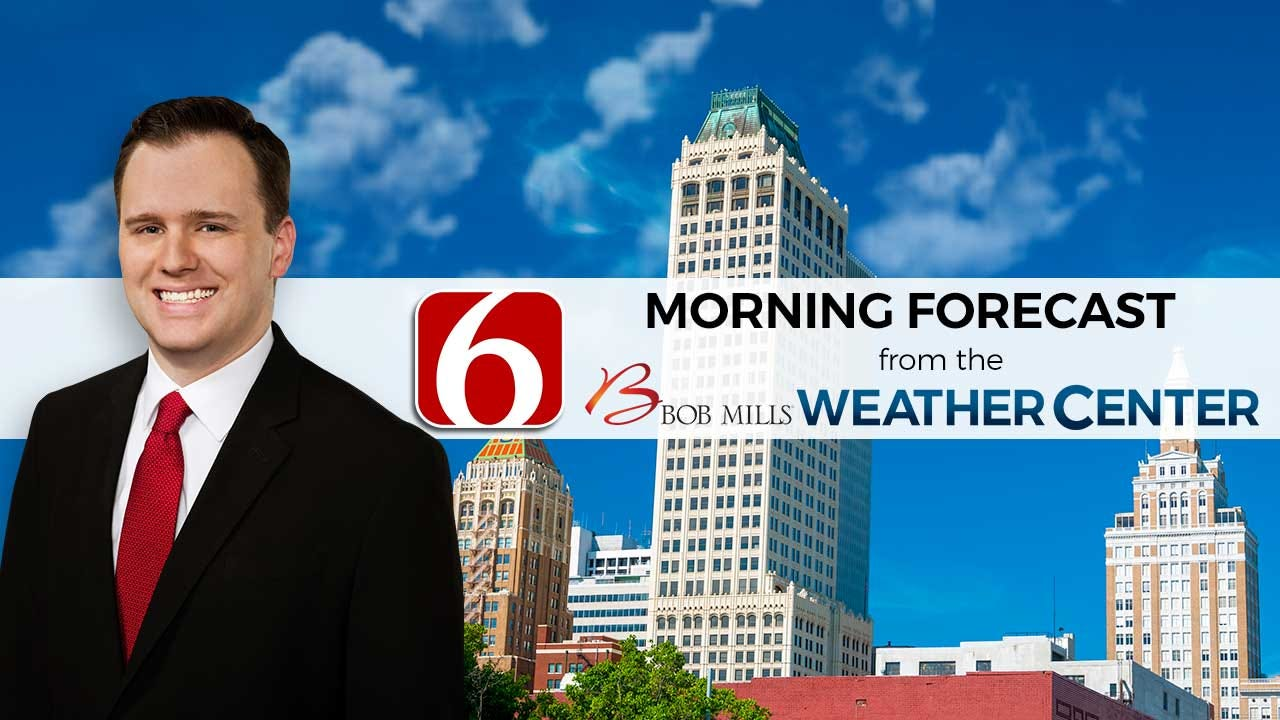 Saturday Morning Forecast With Stephen Nehrenz