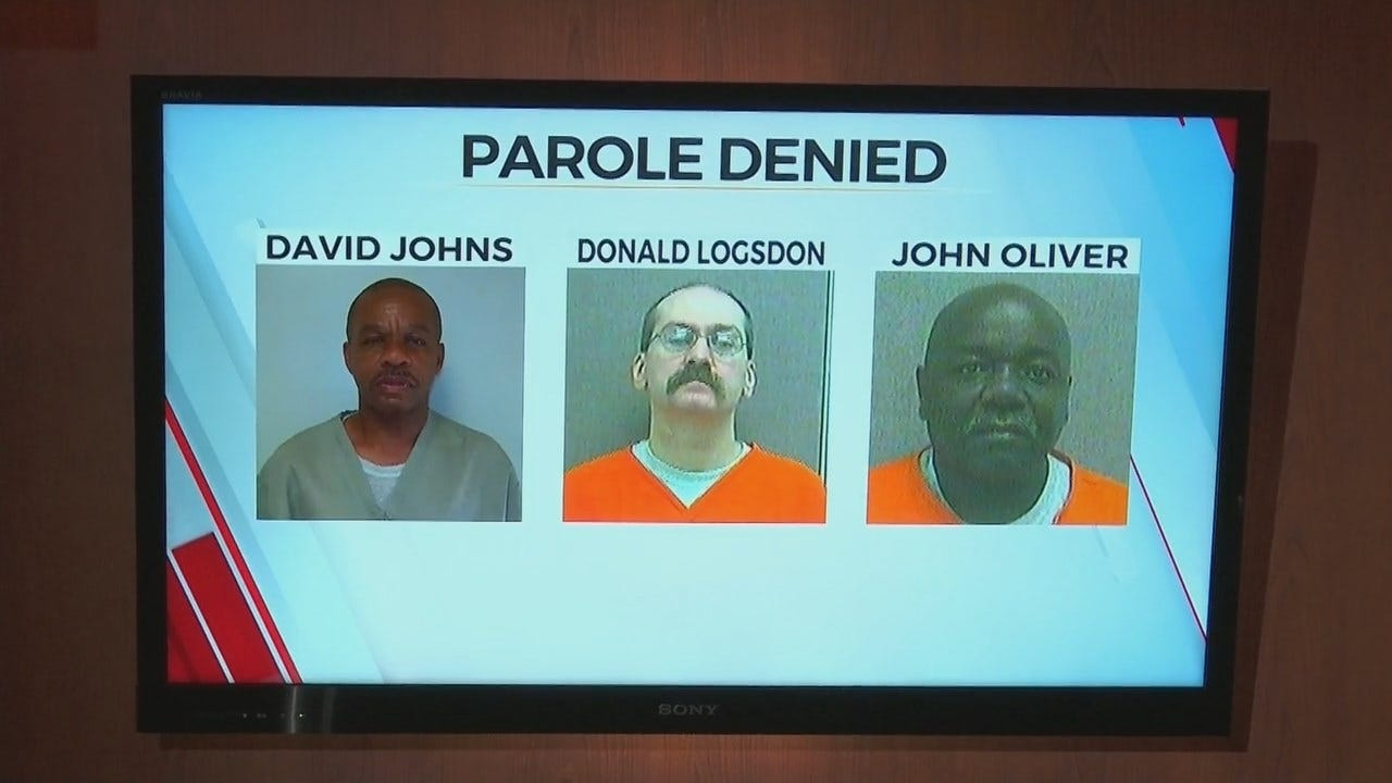 Muskogee Co. District Attorney's Office: Parole Denied For Three Men