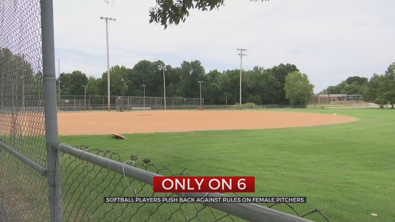 Girls Not Allowed To Pitch On Tulsa Co-Ed Softball Team
