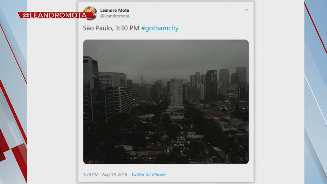 Something To Talk About: Amazon Forest Fire Causes Darkness In Sao Paulo