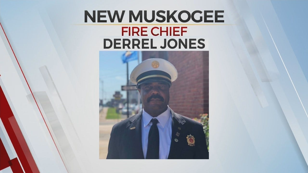 Muskogee Gets New Fire Chief