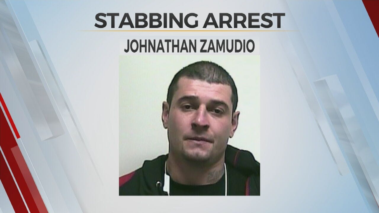 WATCH: Man Arrested After Deadly Stabbing In Muskogee