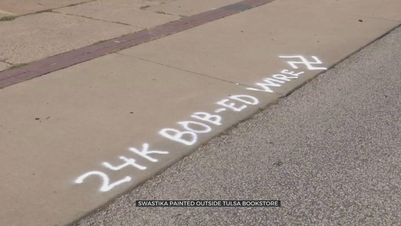Tulsa Bookstore Says Suspect Identified In Hate Vandalism