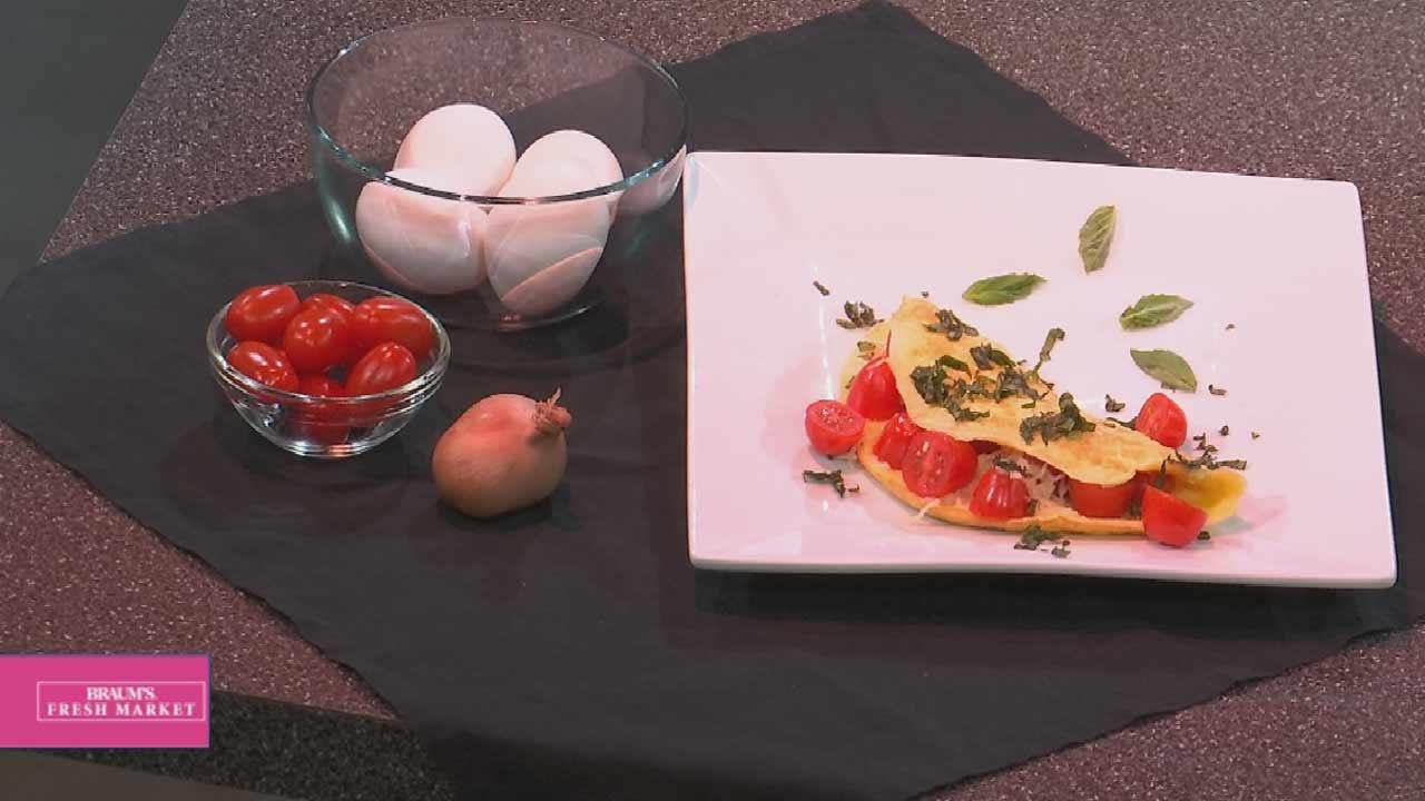 WW Italian Omelet With Tomatoes & Mozzarella