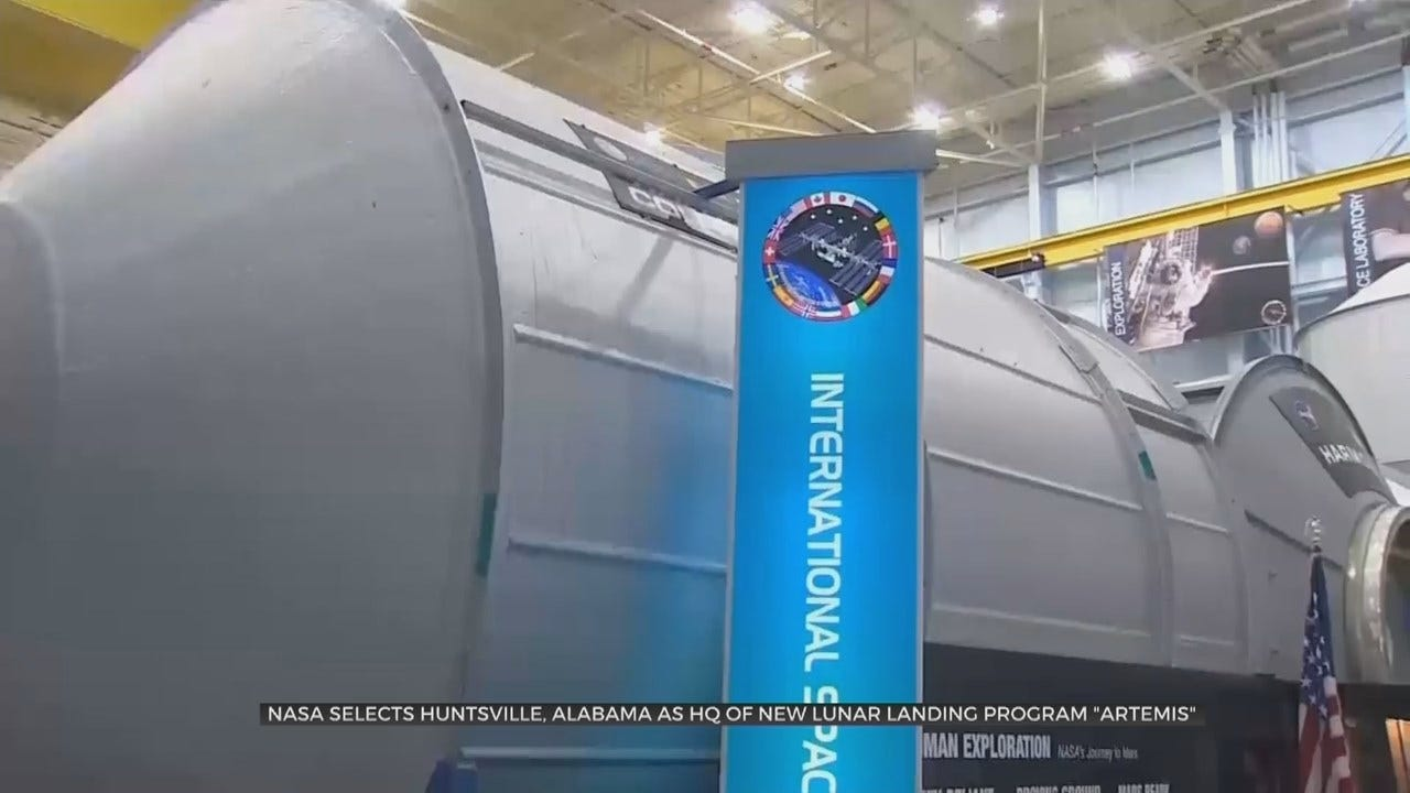 NASA Picks Alabama Space Center To Manage Lunar Lander Program