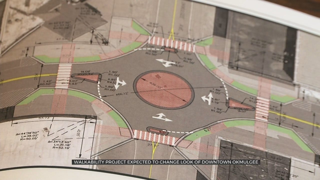 Walkability Project Starts In Okmulgee