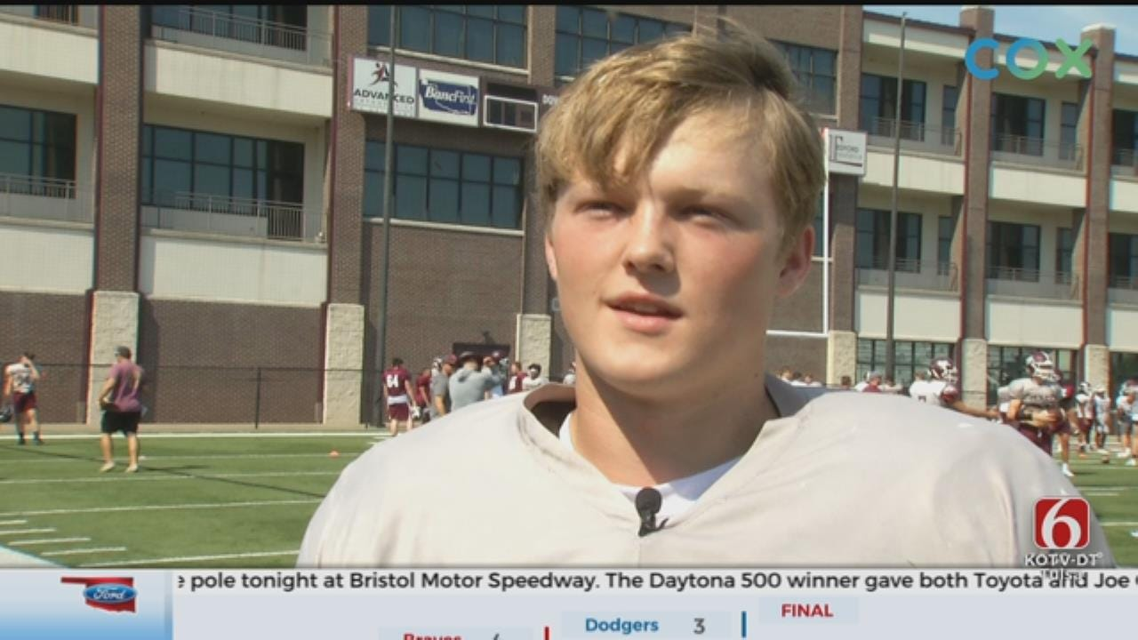 Jenks' Cox Puts Football Mindset 1 Brick At A Time On The Field