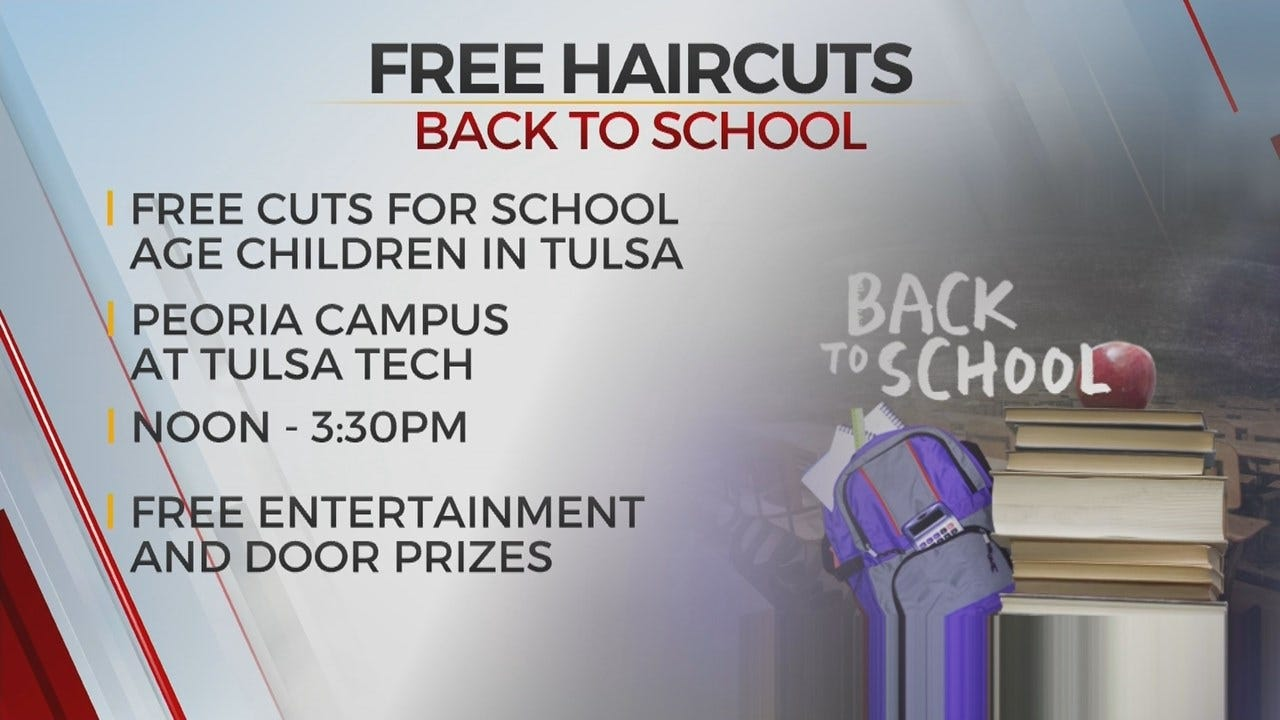 Tulsa Tech Offering Free Back-To-School Haircuts
