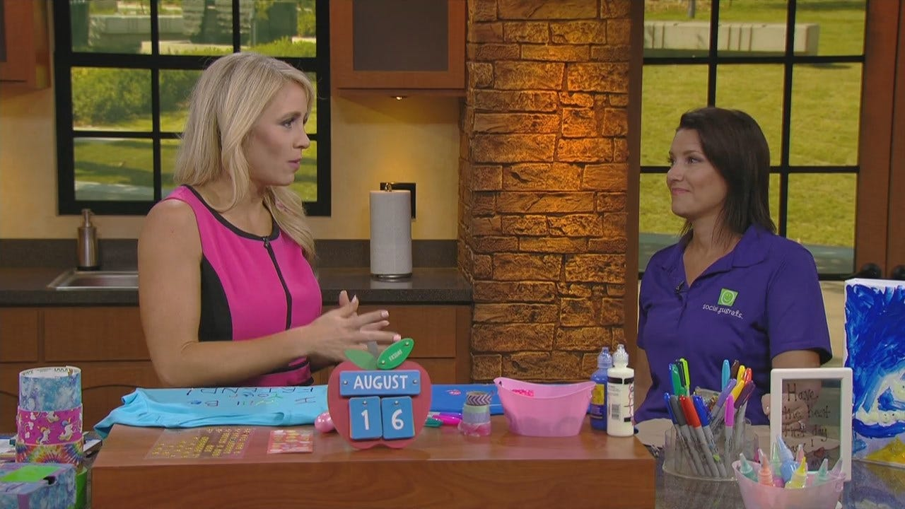 Social Rugrats Founder Shows Us How To Make School Supplies At Home