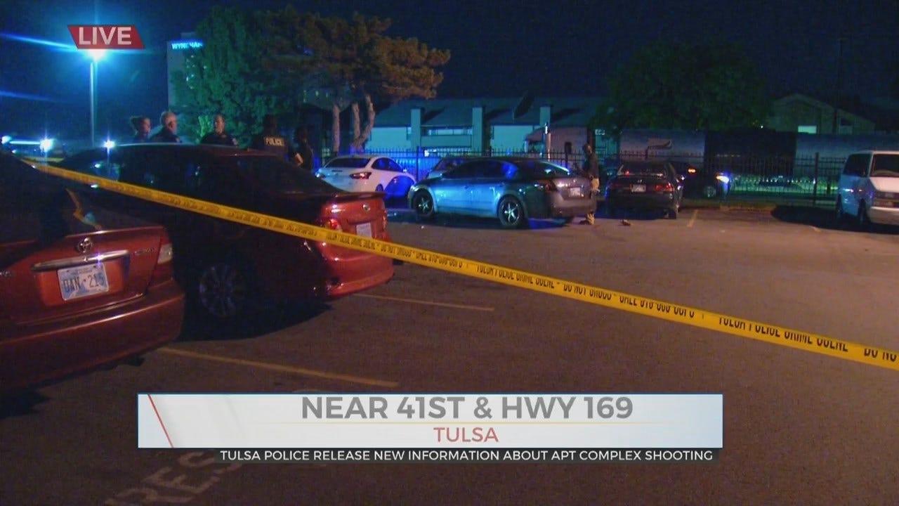 UPDATE: Man Shot At Silver Creek Apartments, Tulsa Police Say