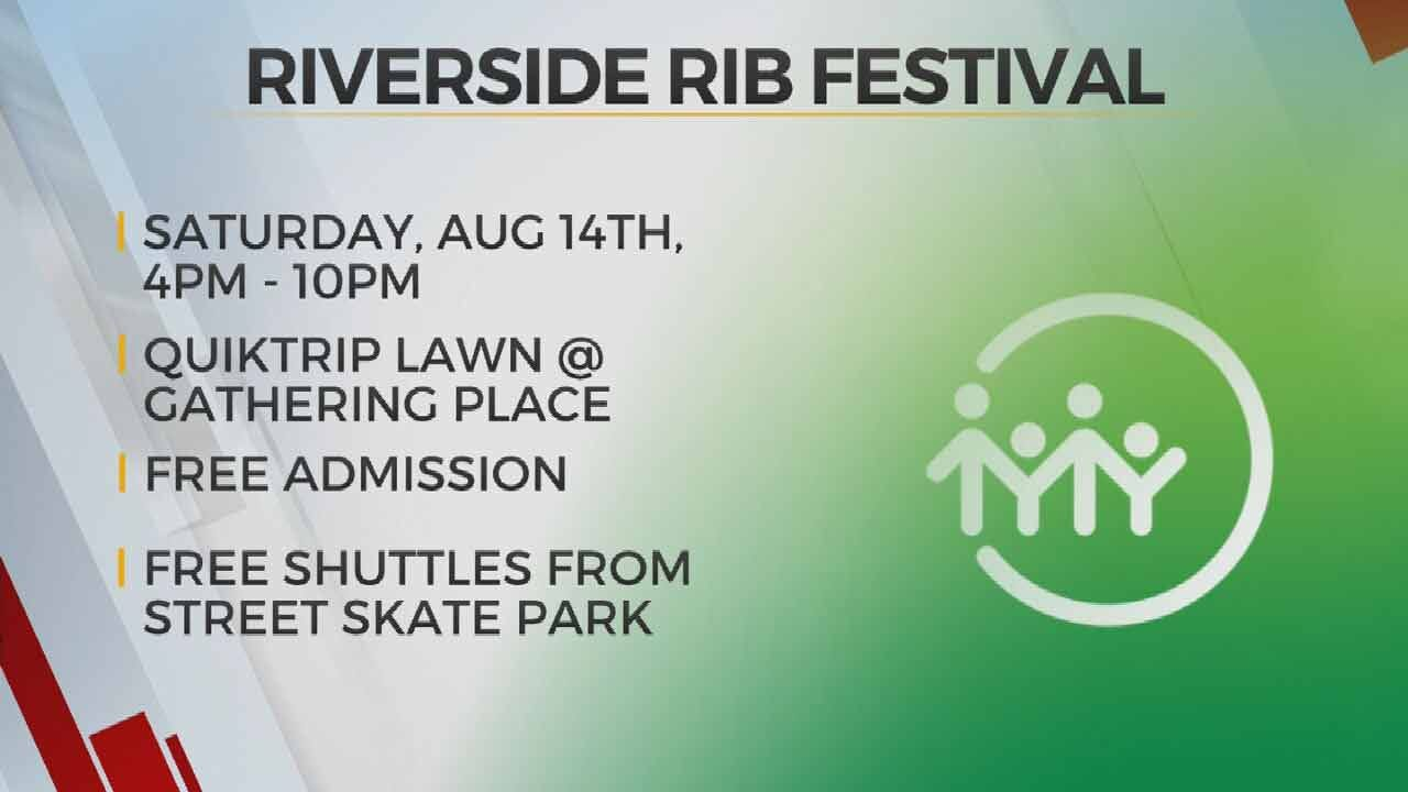 Don't Miss Riverside Rib Festival On August 17 At Tulsa Gathering Place