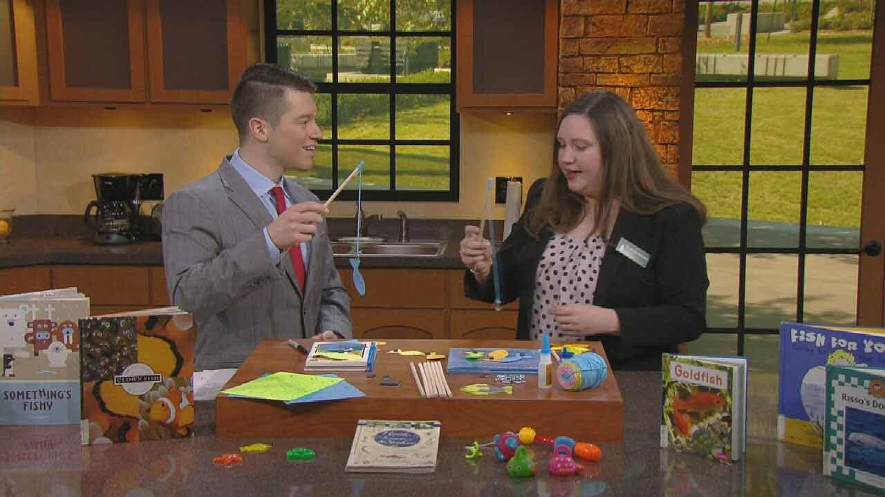 Make-It-Yourself Fishing Game Means Fun For Oklahoma Kids
