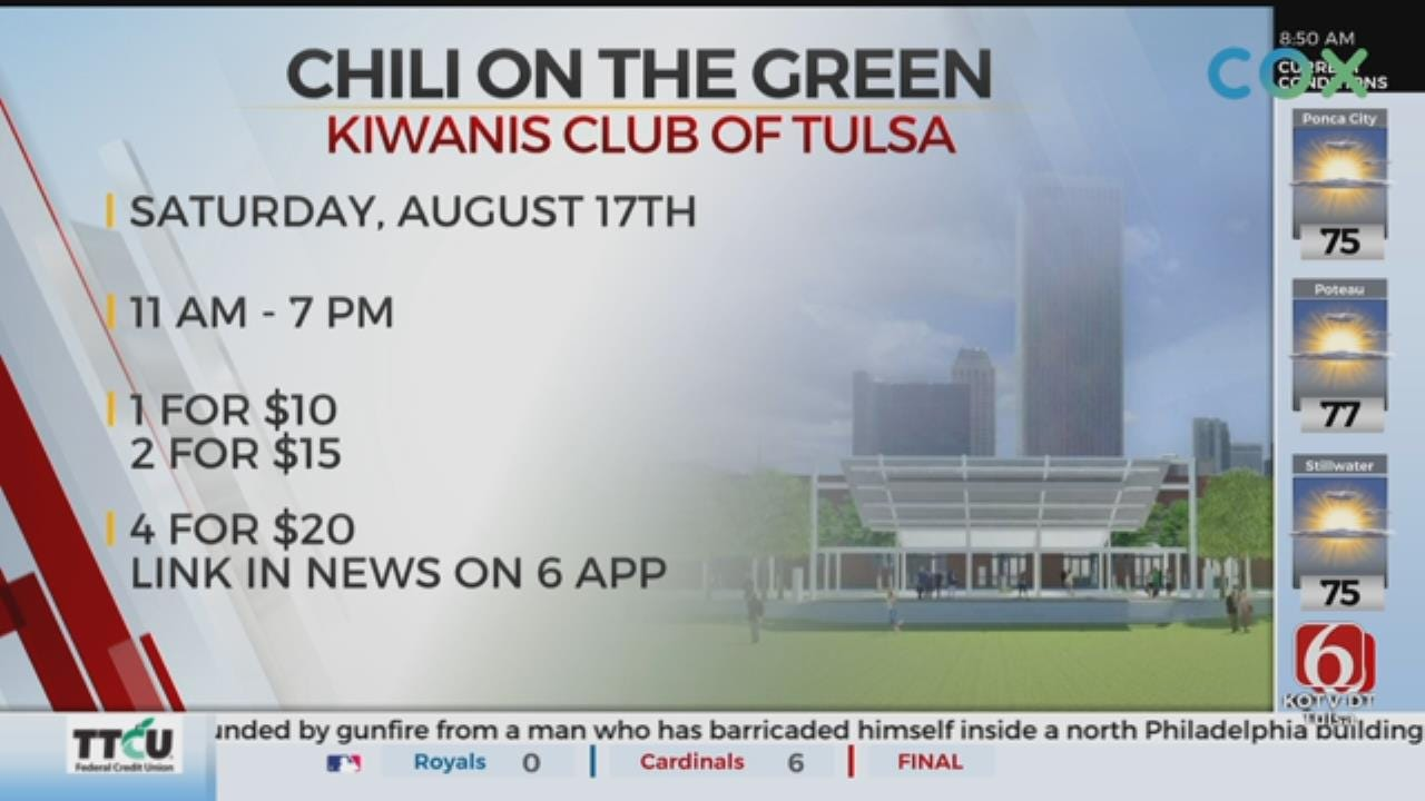Chili On The Green Returns To Tulsa