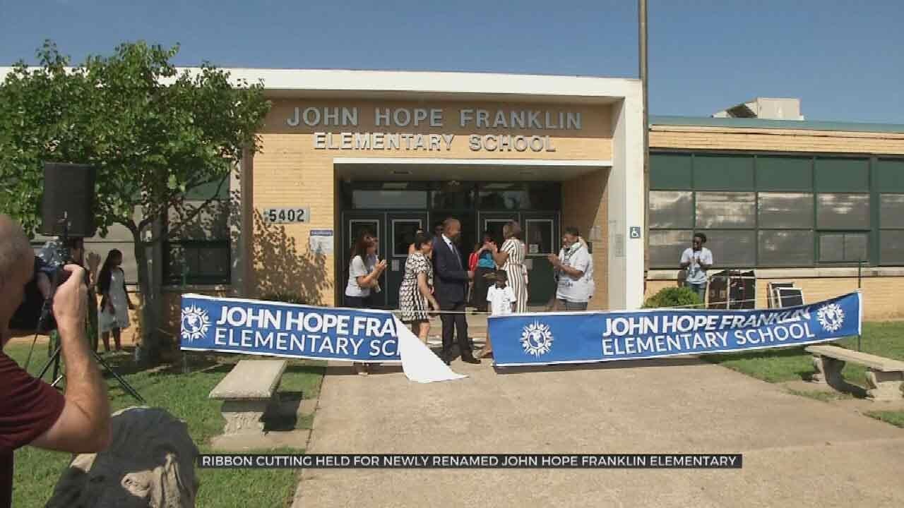 Tulsa Public Schools Celebrates Opening John Hope Franklin Elementary