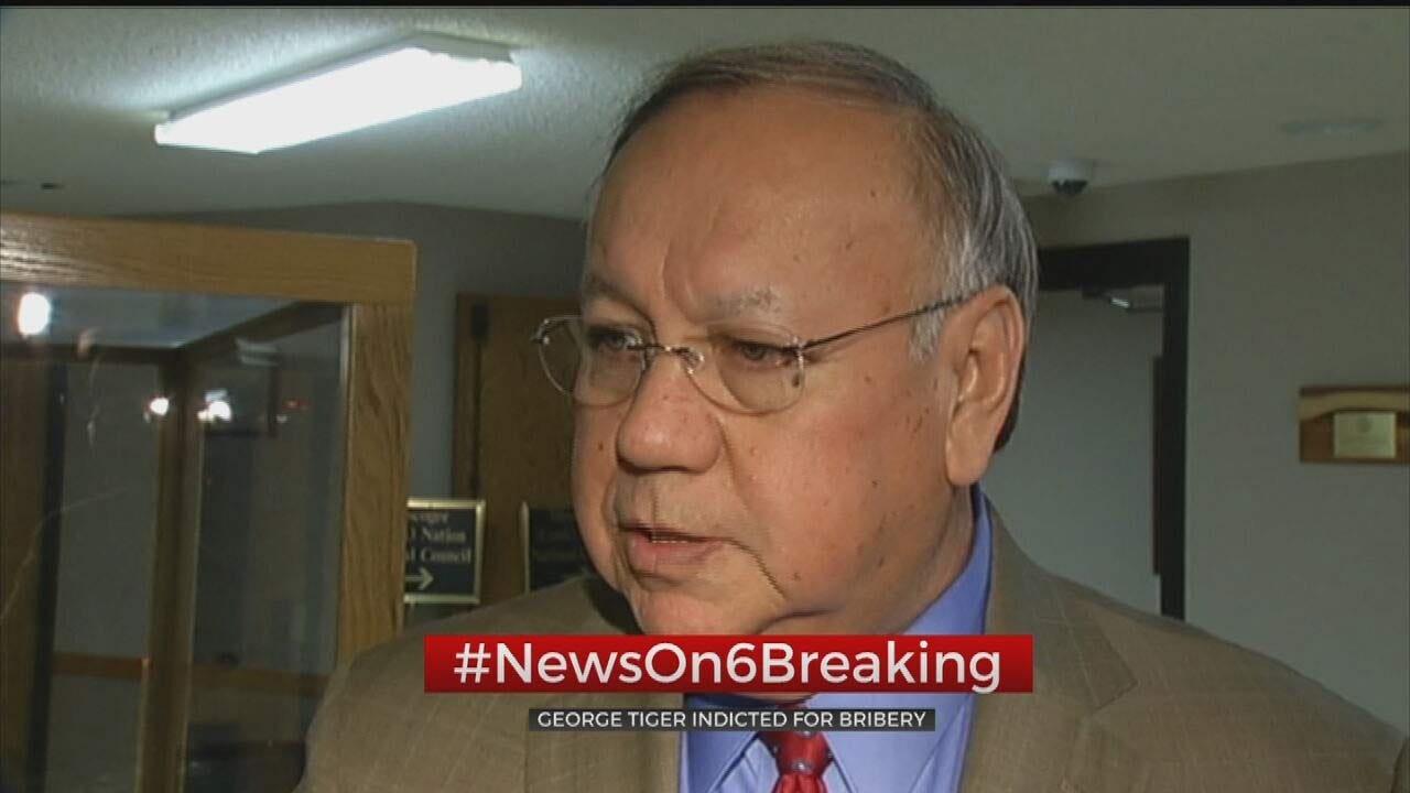 Former Muscogee (Creek) Nation Principal Chief Indicted For Bribery