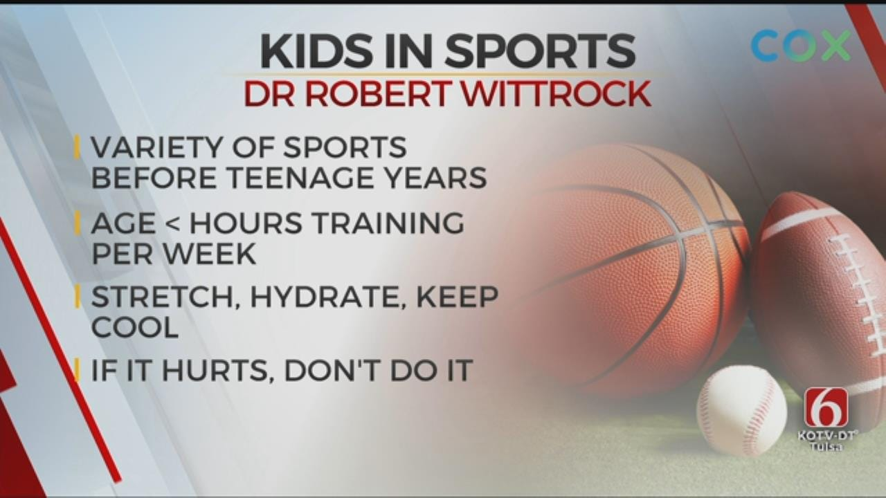 'If It Hurts, Don't Do It:' Tulsa Doctor's Advice For Keeping Kids From Overtraining