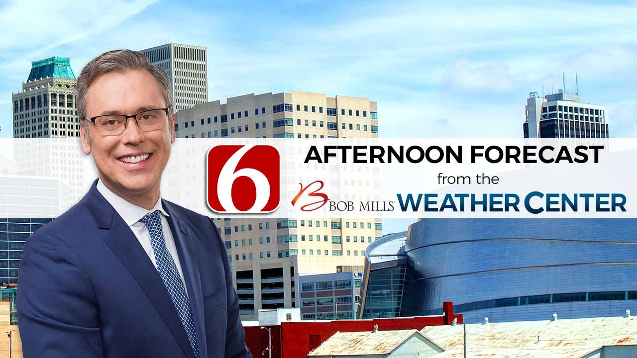 Tuesday Afternoon Forecast With Alan Crone