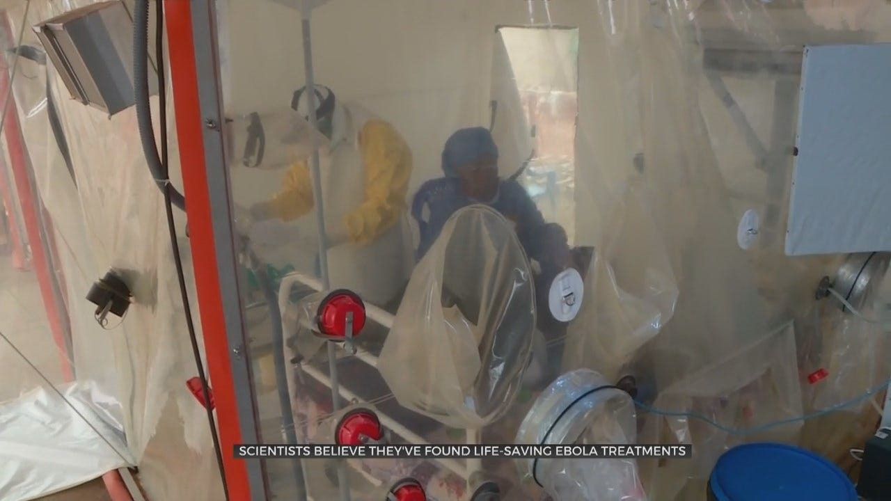 Scientists Believe They've Found Life-Saving Ebola Treatments