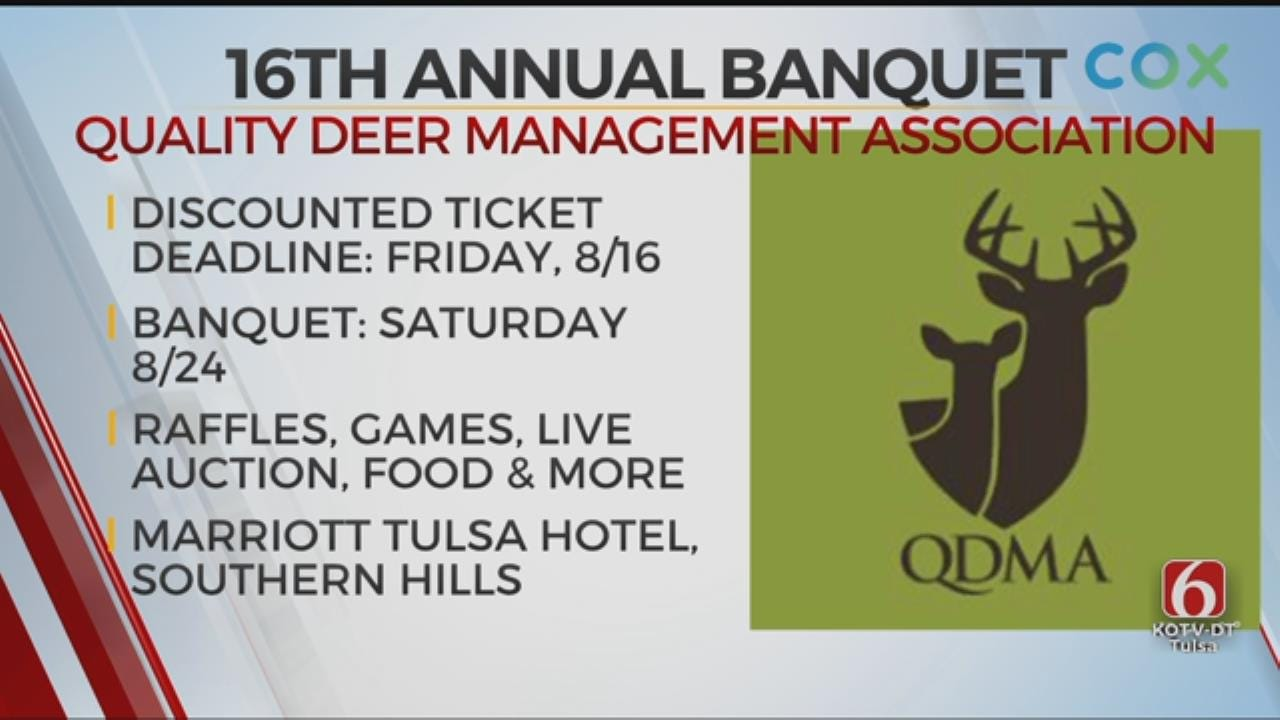 Upcoming Banquet Supports Eastern Oklahoma Quality Deer Management Association