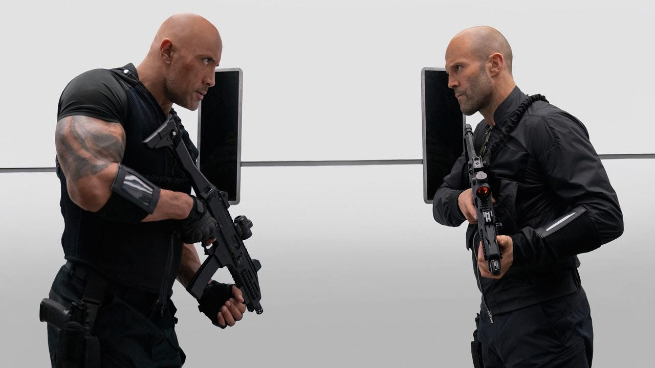 Hobbes And Shaw Takes The #1 Spot At The Weekend Box Office