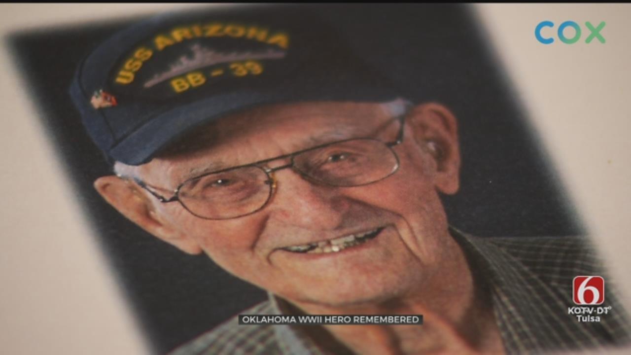 Pearl Harbor Survivor Lonnie Cook Laid To Rest