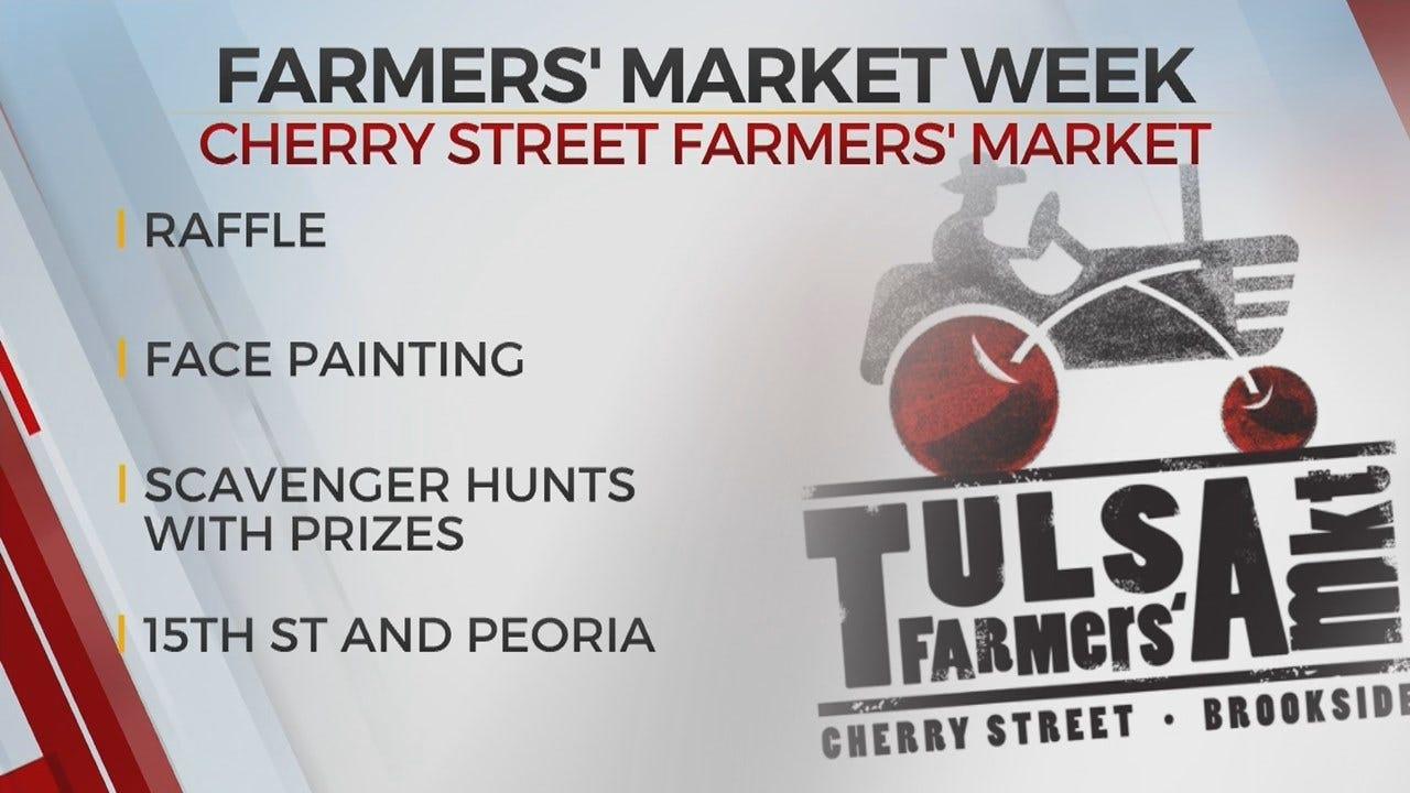 Cherry Street Farmers' Market Celebrates National Farmers' Market Week