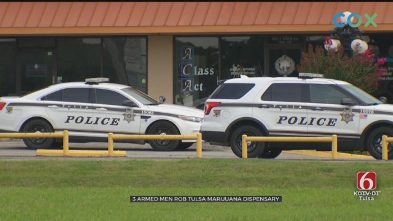 Tulsa Medical Marijuana Dispensary Robbed