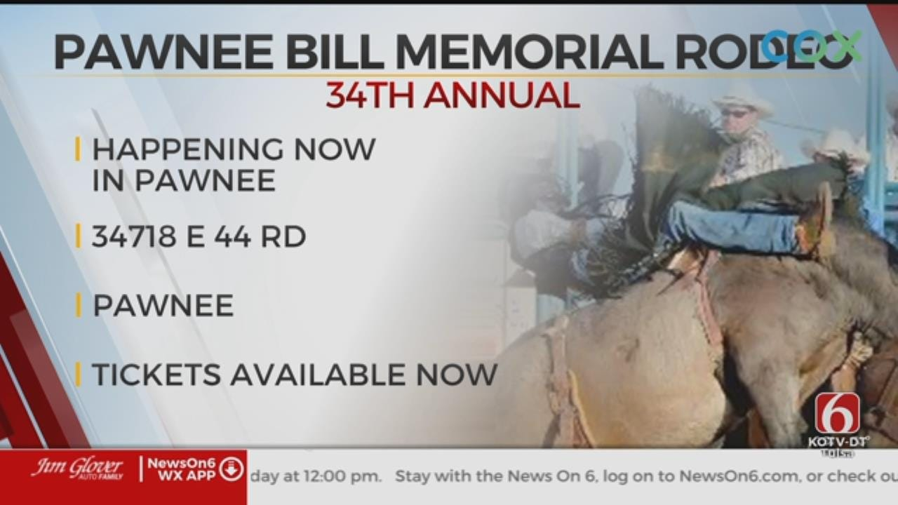 34th Annual Pawnee Bill Memorial Rodeo Taking Place