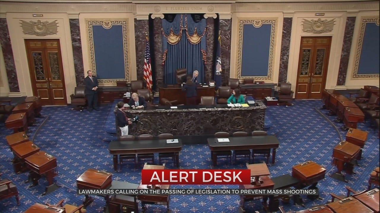 Congress Members Call For Gun Reform