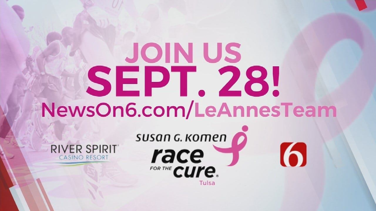 River Spirit Casino To Host Susan G. Komen Race For The Cure