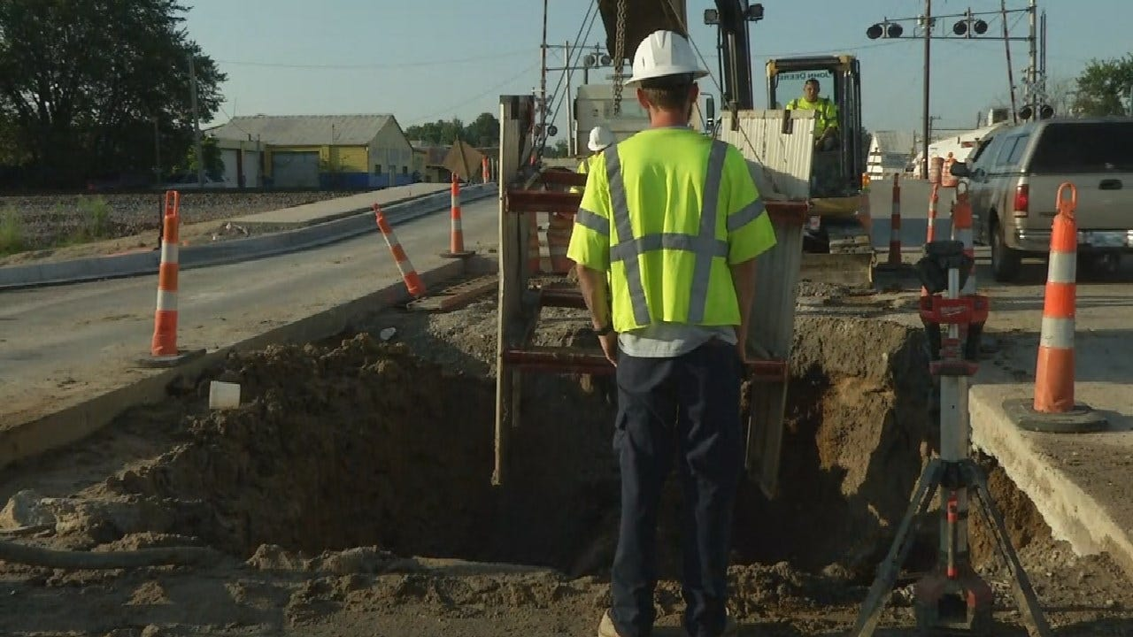 Tulsa Homeowners Frustrated After Nearly A Week Of Water Main Issues