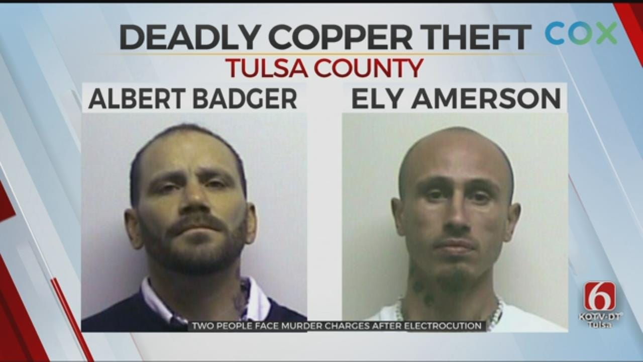 Tulsa Co. Deputies: 2 People Arrested For Murder After Man Dies Stealing Copper
