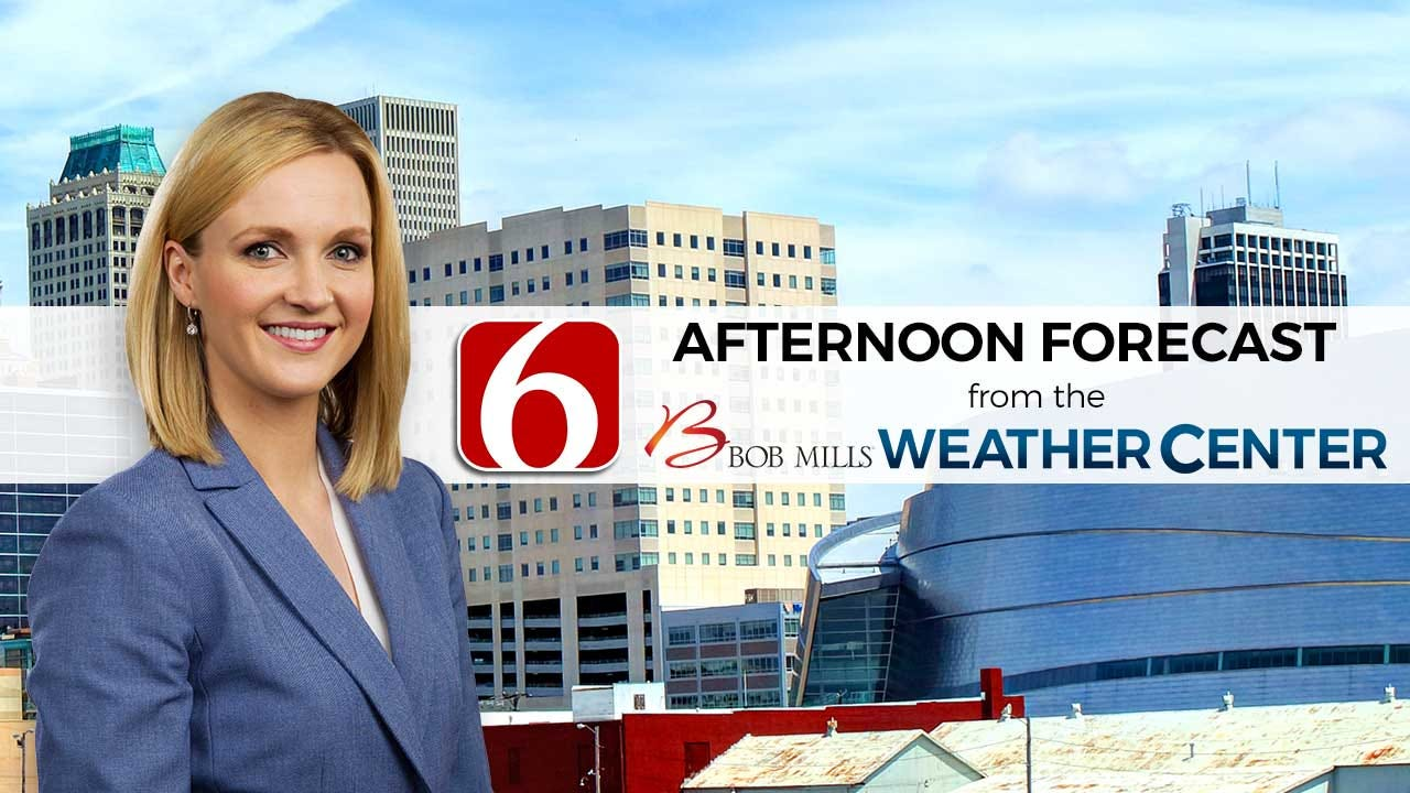 Monday Afternoon Forecast With Stacia Knight