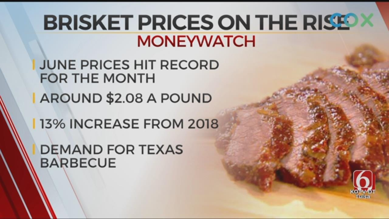 Brisket Prices Are On The Rise