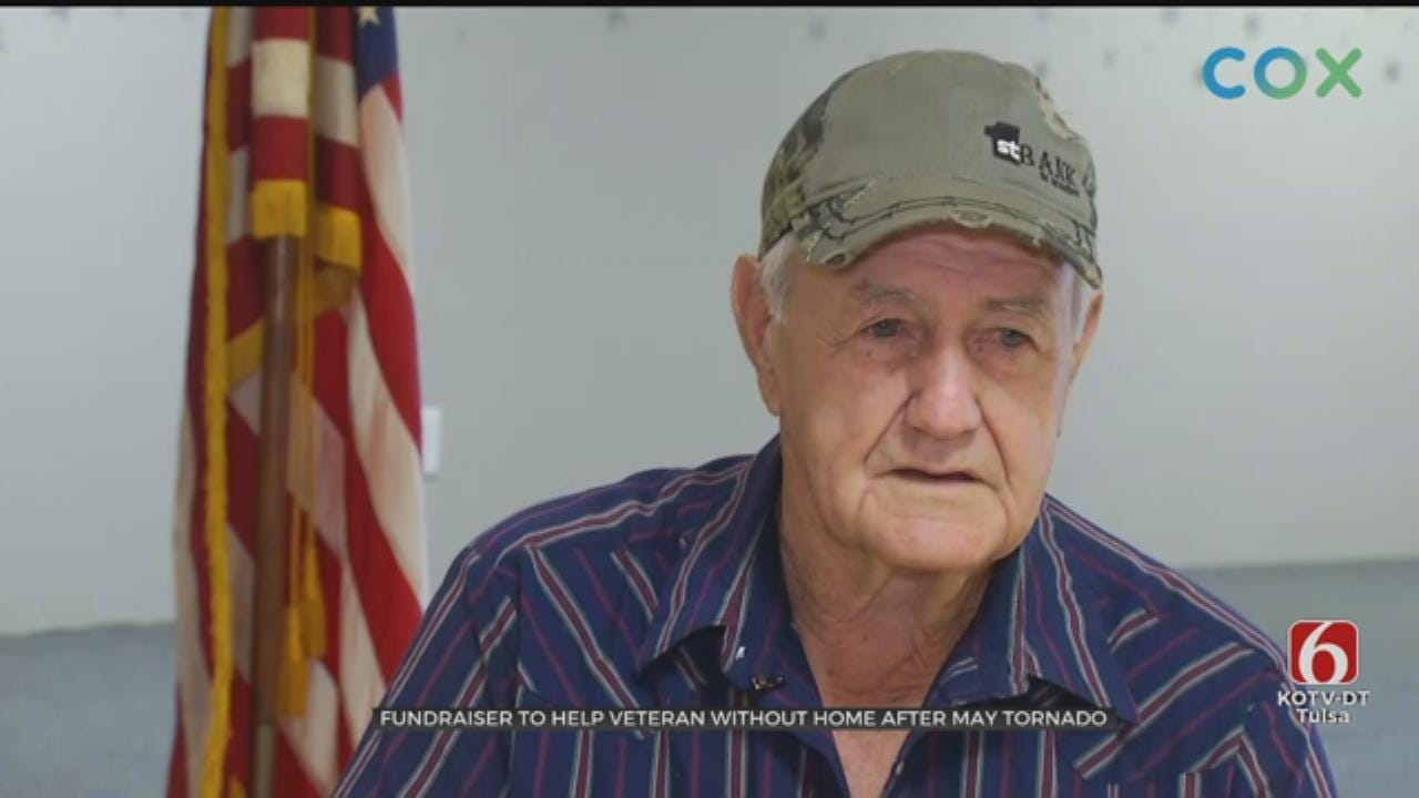 Fundraiser Held For Veteran Who Lost Home In May Tornado