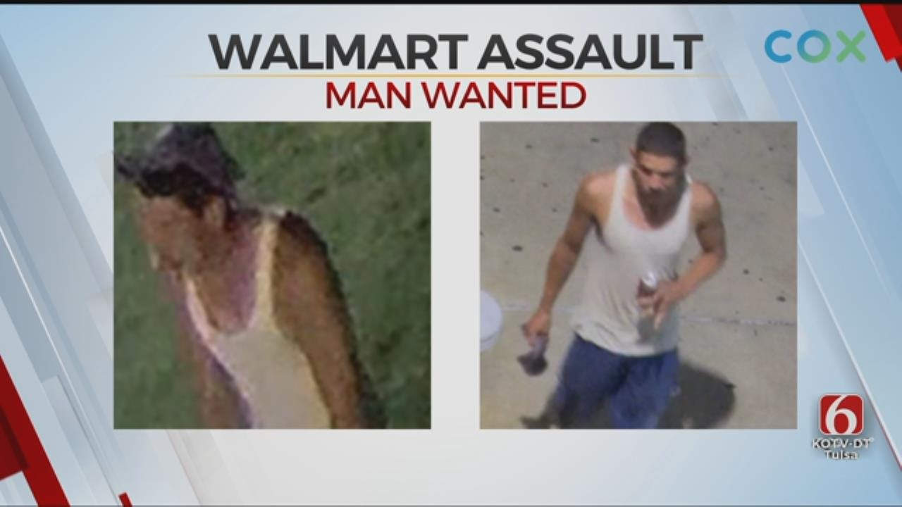 Tulsa Police: Man Attacked, Robbed Elderly Woman At Walmart