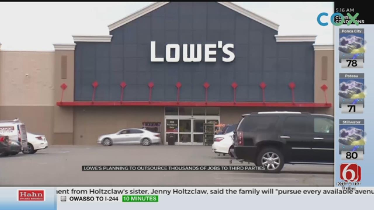 Lowe's To Lay Off Thousands Of Workers