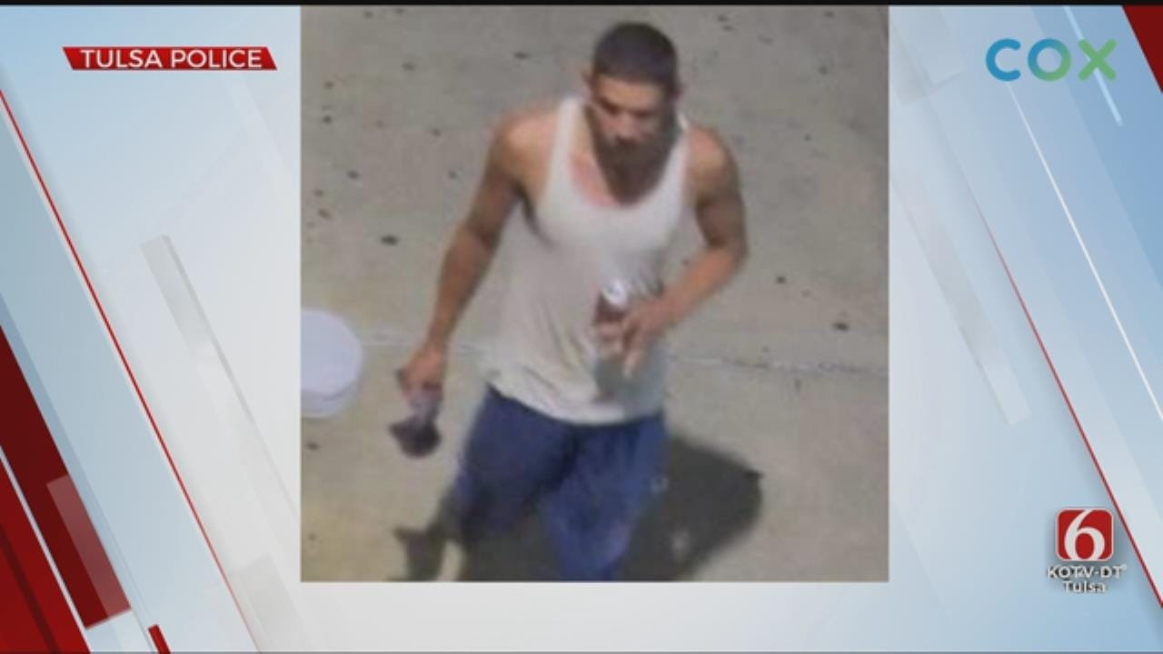 Tulsa Police Searching For Man Accused Of Robbing Elderly Woman