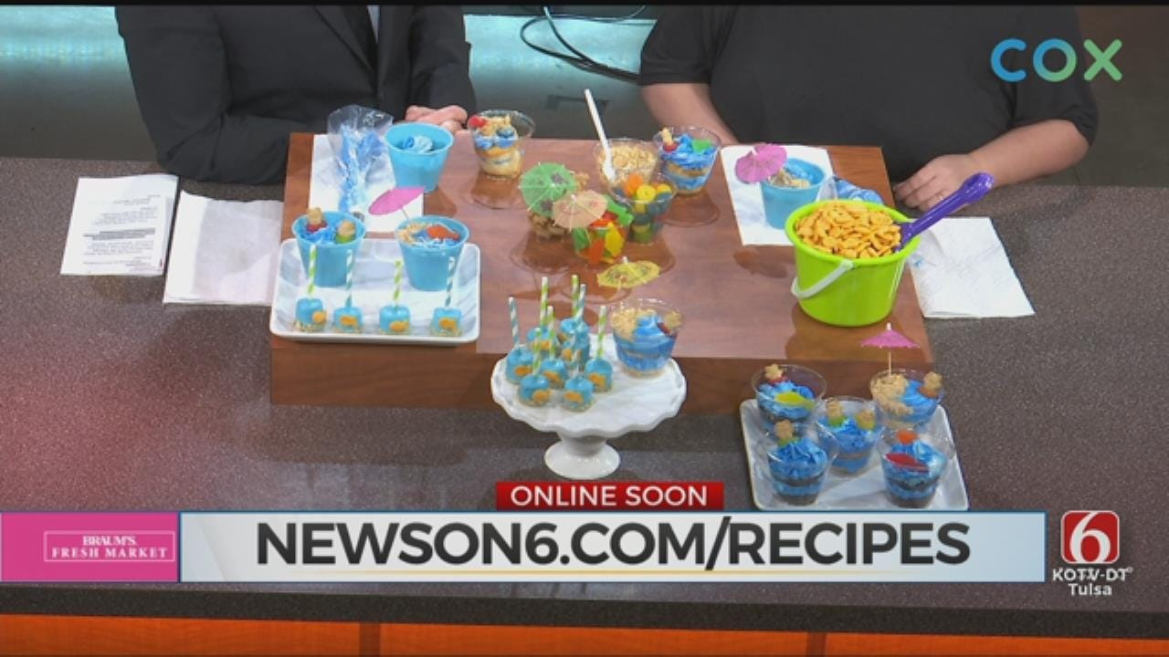 Fun Summer Pool Party Treats From 'All Things Cake'