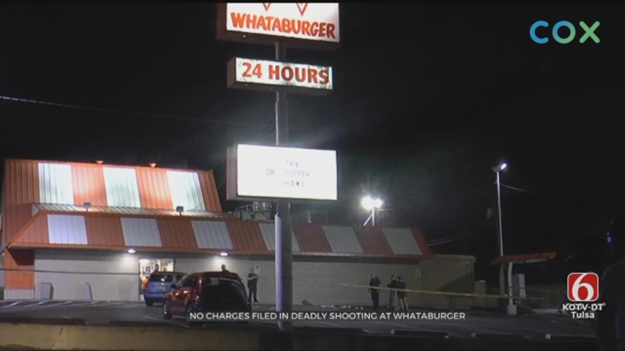 Tulsa Police Identify Man Shot At Whataburger